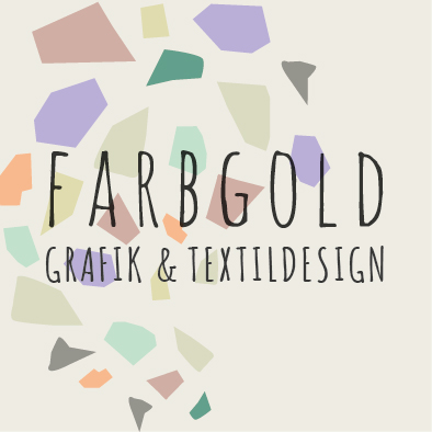 farbgold- individuelle Hochzeitspapeterie, kreatives Design und Logodesign aus München