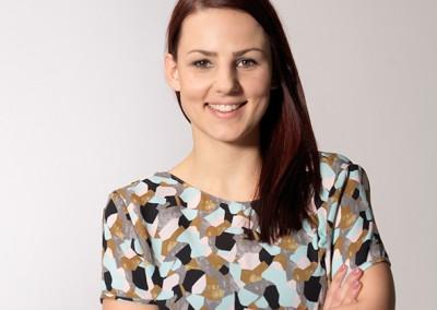 Garfik- und Textildesigenrin Nicola Honer