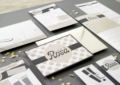 Café Rosa Corporate Design