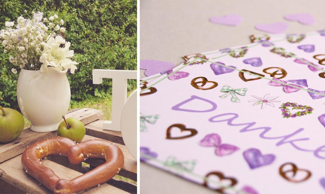 Heimatliebe – Hochzeits-Papeterie im Trachtenlook