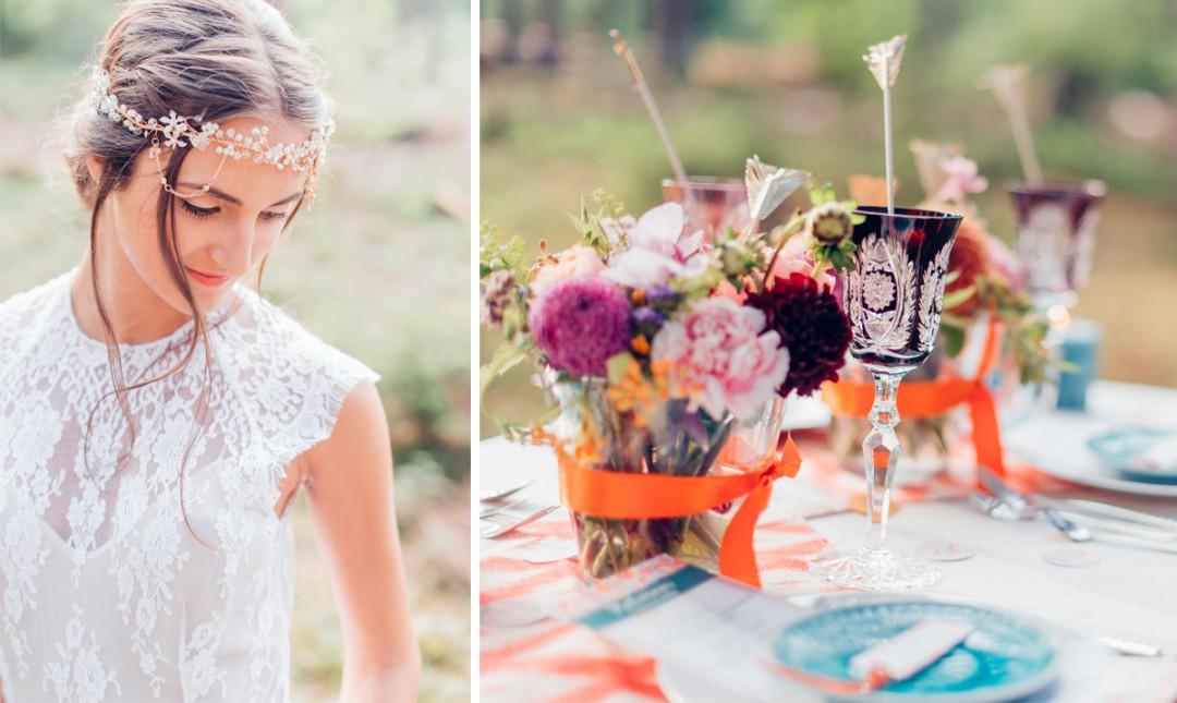 Heiraten im Boho-Stil – das perfekte Motto für eine Sommerhochzeit
