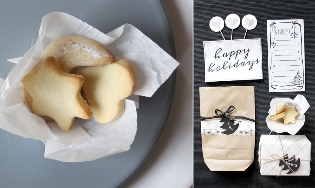 DIY Weihnachtsdeko aus Papier – Geschenkanhänger & Wunschzettel