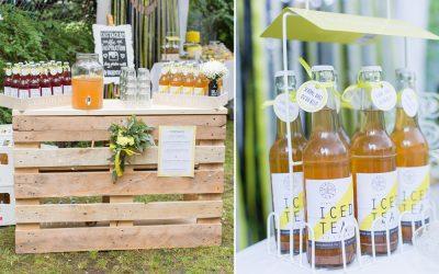 Hochzeitstrend 2017 Getränkebar