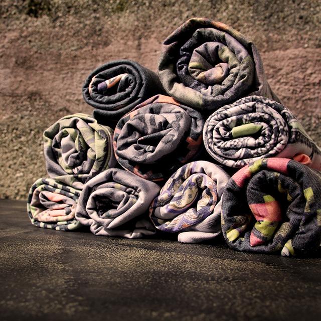 Textile Accessoires Tuch Design farbgold München
