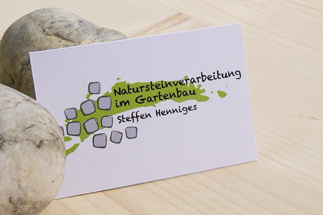 logodesign natursteinverarbeitung münchen