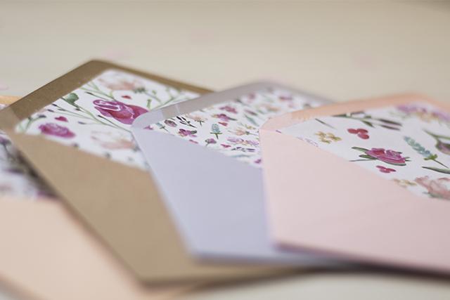 DIY – Envelopliner für eure Papeterie selbst gebastelt