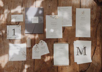 Papeterie fine art wedding München farbgold_