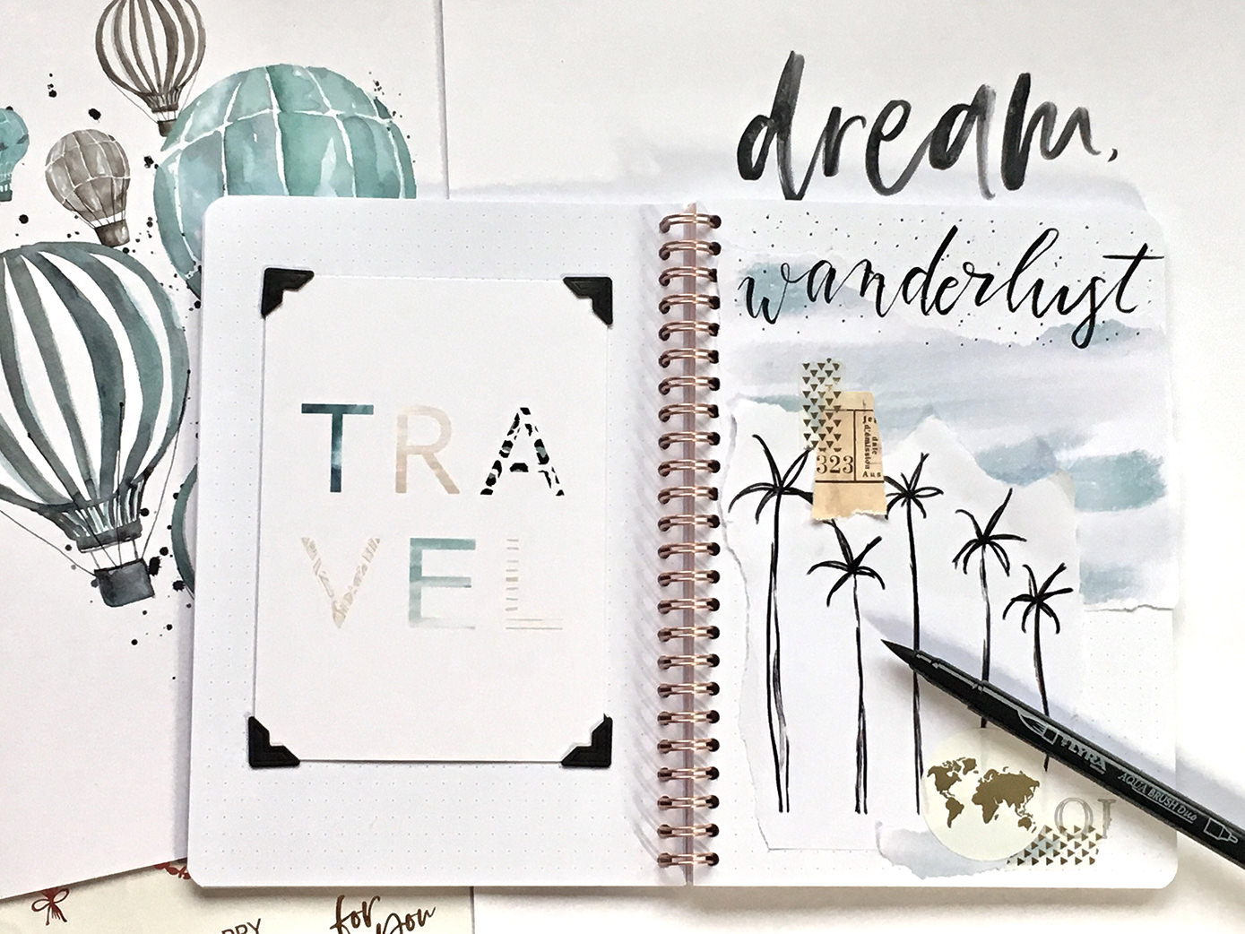 farbgold_Bullet Journal_ Collage