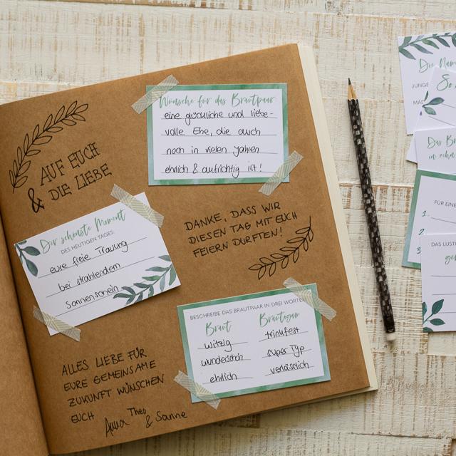 Fragen gästebuch hochzeit lustige Gästebuch Hochzeit