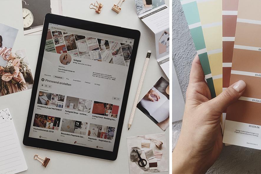 Hochzeitsplanung mit Pinterest