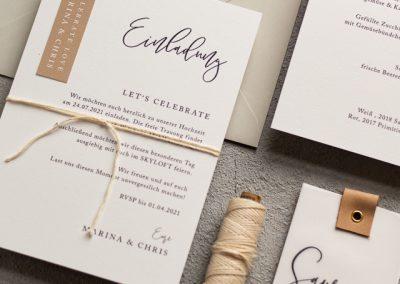 Einladungskarten_Hochzeit_Hochzeitseinladung_Naturtöne_Natürlich_Gold