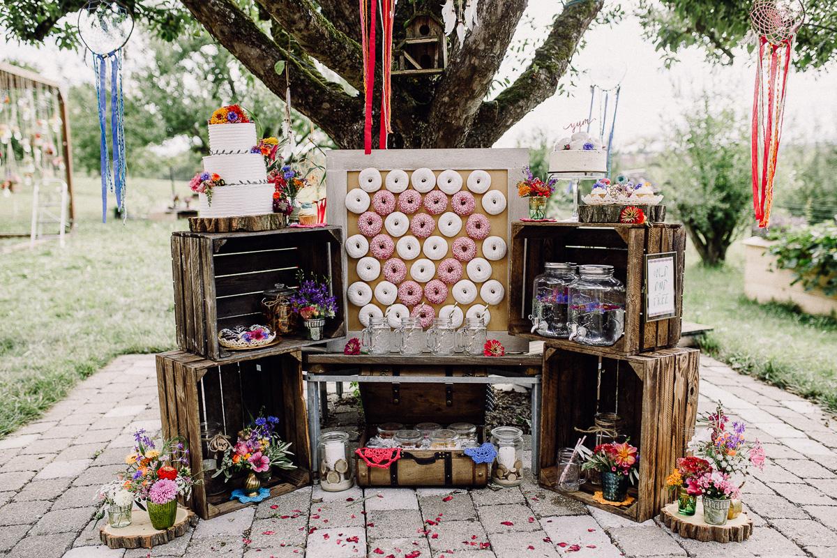 Candybar im Garten